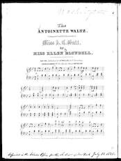 The  Antoinette waltz