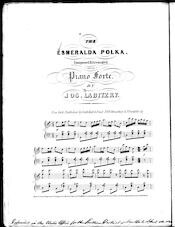 The  Esmeralda polka