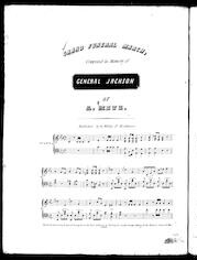 Grand funeral march, composed in memory of General Jackson