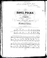 The  ravel polka
