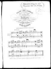 Galop and chorus [from] Ernani