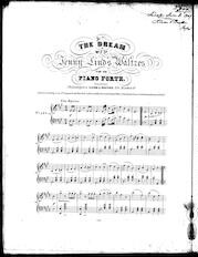 The  dream, no. 2, of Jenny Lind's waltzes