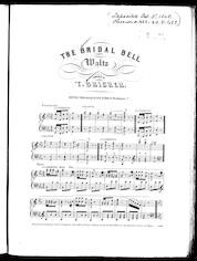 The  bridal bell waltz