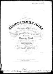 Serious family polka