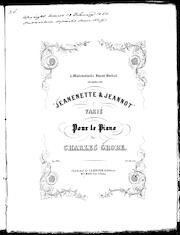 Jeanenette and Jeannot, op. 144