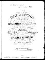 Arkansas traveller