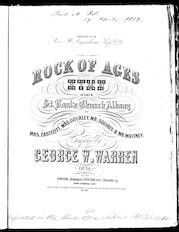 Rock of ages hymn, op. 14