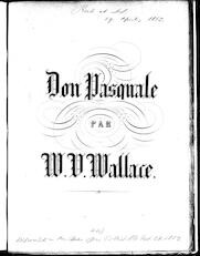 Fantasie de salon Don Pasquale