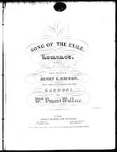 Song of the exile = Serenata dell 'esule, romance