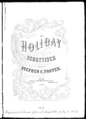 The  holiday schottisch