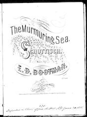 The  murmuring sea schottisch