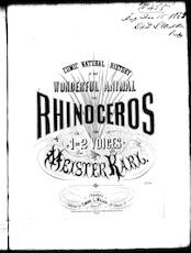 The  rhinosceros