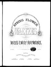 Spring flower waltzes: The hyacinth; The crocus; The narcissus; The jonquil; The snowdrop