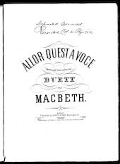 Allor quest a voce = Methought from within me