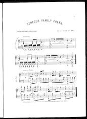 Serious family polka, with brilliant variations, op. 881