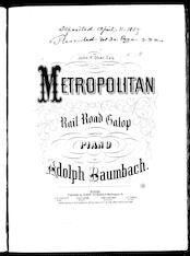 Metropolitan rail road galop