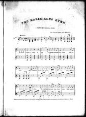 The  Marseilles hymn, a French national song