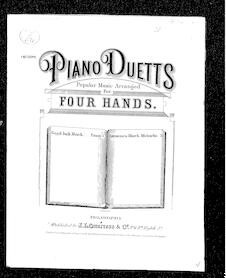 Good luck march (Piano duetts)