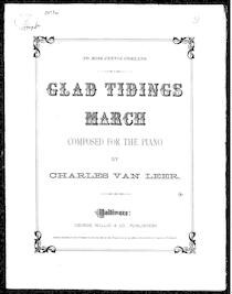 Glad tidings' march