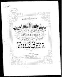 When little Mamie died