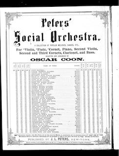 Peters' parlor music, no. 17