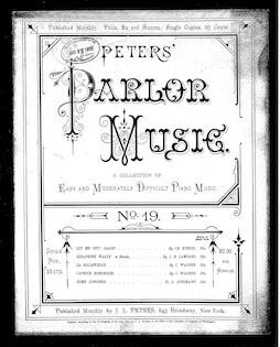 Peters' parlor music, no. 19