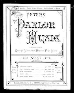 Peters' parlor music, no. 27