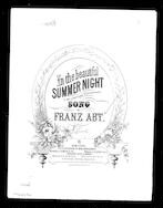 In the beautiful summer waltz - In der prc̃htigen sommernacht