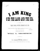 I am king o`er the land and the sea