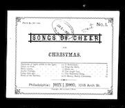 Songs of cheer for Christmas