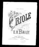 The  Song of the oriole