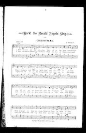Bethlehem songs; A collection of Christmas carols