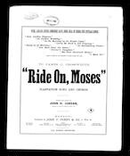 Ride on, Moses
