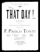 That day! No. 4 [contralto or basso]