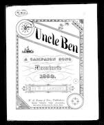 Uncle Ben; A Campaign song for Massachusetts for 1882
