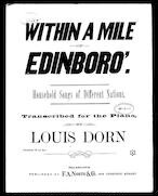 Within a mile of Edinboro; Transcription
