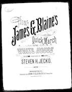 Hon. James G. Blaine's quick march to the White House