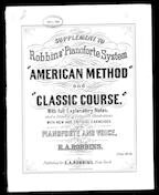 Supplement to American method and classic course