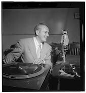 [Portrait of Tommy Dorsey, WMCA, New York, N.Y., ca. Oct. 1947]