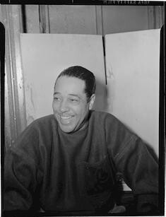 portrait of duke ellington paramount theater new york n y ca   portrait of duke ellington washington d c between 1938 and 1948 graphic portrait photographs 1930 1950 film negatives 1930 1950 graphic 1