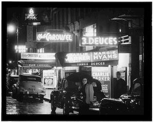 [52nd Street, New York, N.Y., ca. 1948]