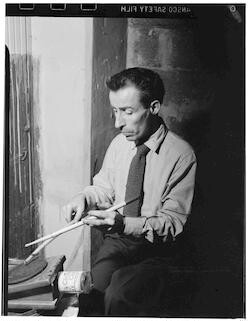 [Portrait of Dave Tough, Eddie Condon's (basement), New York, N.Y., ca. 1946]