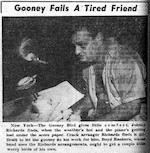 Gooney Fails a Tired Friend