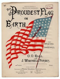 The  proudest flag on earth