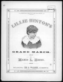 Lillie Hinton's grand march