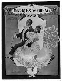 The  darkies wedding dance