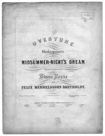 Overture to Shakespeare's Midsummernight's dream