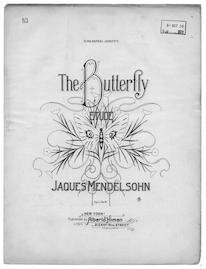 The  butterfly etude, op. 11, no. 6