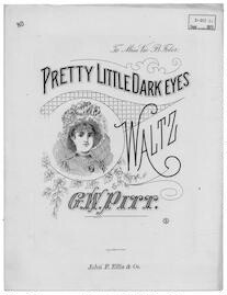 Pretty little dark eyes