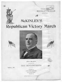 McKinley's republican victory march